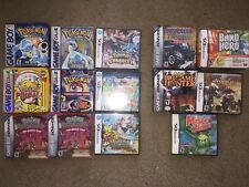 Pokemon Games Lot game boy gbc gba 2ds 3ds nintendo red blue yellow gold silver