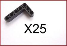 25 Brand New Lego Technic Dark Blue Gray 3 x 5 L Shaped Studless Liftarm