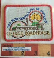 AUSTRALIA PATCH ~ TI-TREE ROADHOUSE NORTHERN TERRITORY OUTBACK PUB  58RR