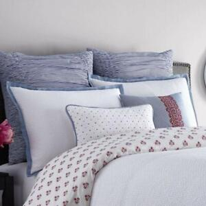 Real Simple French Riviera Euro Sham in Blue/White