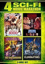 ARENA / ELIMINATORS / AMERICA 3000 / THE TIME GUARDIAN - DVD - REGION 1 - Sealed