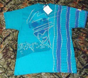 Ocean Pacific 90s Prototype Design Shirt OP Surfing Beach Wear VTG CA Hawaii T&C