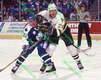 Mark Tinordi MINNESOTA NORTH STARS 8 x 10 color GLOSSY PHOTO hockey #t2mn4aG3