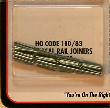 NEW HO Atlas 170 Code 83/100 Nickel Silver Rail Joiners 48 Ct