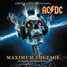 AC/DC - MAXIMUM VOLTAGE - IN CONCERT SAN FRANCISCO 1977: LTD ED BLUE VINYL