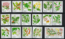 PALAU:1987 Flowers definitive set 1c-$10 SG 172-88 MNH