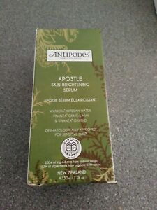 Antipodes Apostle Skin-Brightening Serum 30ml - Brand New Boxed