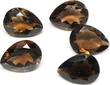 Brown Smoky Quartz Pear,14.01c(1pc)20x14x9mm,QS-A07,cut from natural crystal