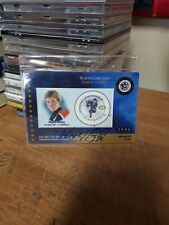 Wayne Gretzky Autographed Stamp Card No COA NM