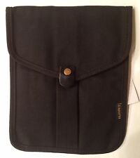 Billykirk Black Canvas Tablet Sleeve - Brand New With Tag - Free Fast Shipping!