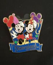 Disney's Dlr - Travel Company Celebrate Mickey Mouse & Minnie Mouse Pin