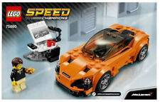 Lego #75880 Speed Champions McLaren 720S Complete (Used, No Box)