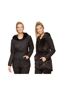 The North Face Women's Mossbud Reversible Parka Jacket - TNF Black Size Medium