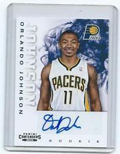 12/13 Contenders-Orlando Johnson RC autograph-Pacers/UC Santa Barbara