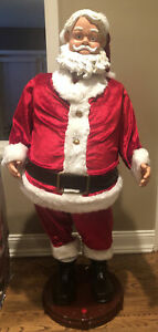 Gemmy  Santa Claus 4 Foot Animated Singing and Dancing Decor TESTED!! Karaoke