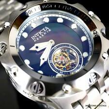 Invicta Reserve Venom Hybrid Tourbillon Black MOP Stainless Steel Watch 52mm New