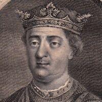 Portrait XVIIIe Henri II Plantagenêt Henri II of England Henryk II Plantagenet