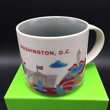 Washington, D.C. Starbucks Mug NEW Coffee Tea Cup 14oz You Are Here YAH NIB