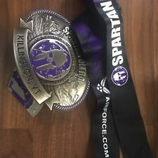 Spartan Race 2018 Killington Vermont Belt Buckle Finisher Medal