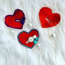 Custom Heart G Tube Pads.