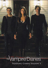 2014 VAMPIRE DIARIES Season 3 Trading Cards Complete 72 Card Set with Wrapper