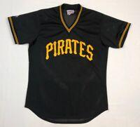 Vtg Pittsburgh Pirates Diamond Collection Mens Baseball Jersey Sz Large 80s 90s