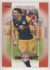 2017 Topps MLS Image Variation Red /10 Sacha Kljestan (Dark Blue Jersey) #73.2