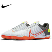 Nike React Gato Indoor Court Soccer Shoes White Crimson Red CT0550-160 Size 7