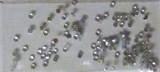 Strass Steinchen Steine silber, rund, 2mm, Strasssteinchen, Nailart, Nail Art