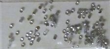 Pietre Strass pietre argento, tondo, 2mm, Strass, Nail Art, Nail Art