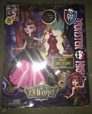 monster high doll new in box! 13 wishes draculaura
