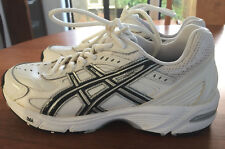 Mens ASICS Gel-170TR Leather White Cross Trainer Runners SIze 6 2E Duomax