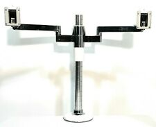 Humanscale Dual Monitor Arm Stand white