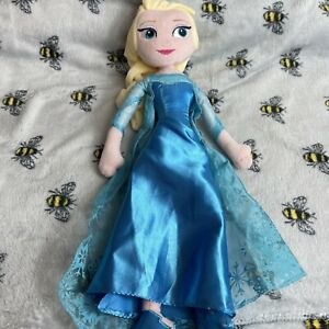 P2 Disney Store Princess Elsa From Frozen Plush Soft Toy Teddy