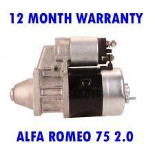 ALFA ROMEO 75 2.0 1987-1992 REMANUFACTURED STARTER MOTOR
