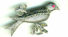 Sterling Silver Ruby Fine Brooches & Pins