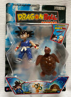 Rare Jakks Pacific Dragon Ball Z 1st Edition Goku & Sea Turtle Figuarts Series 1