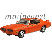 MOTORMAX 73242 1969 69 PONTIAC GTO JUDGE 1/24 DIECAST ORANGE