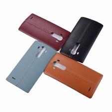 LG G4 H811 H810 H815 US991 Black Leather Back Door Battery Housing Cover