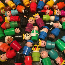 Vintage Fisher Price Little People Assortment