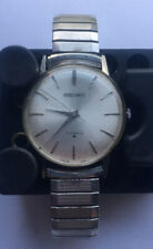 Rate 1966 Vintage Seiko 17 Jewels SS 66-9990 Men's Watch 9880U Running Condition
