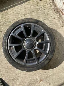 fiat 500 595 abarth alloy wheels