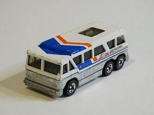 Hot Wheels GREYHOUND BUS AMERICRUISER - Blackwalls 1979 HONG KONG