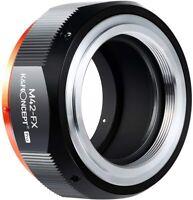 K&F Concept Objektivadapter für M42 Objektiv auf Fujifilm Fuji X-Serie FX Kamera