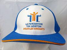 Tim Hortons Camp Foundation  baseball  cap hat  adjustable buckle camp gear