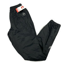 NWT Castelli Mens Black Pioggia Due Rain Pants Bike Cycling Size 2XL