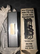 New listing Vintage NuTone Door Chime Button