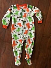 Footed Pajamas Size 24 months by Carters ~ Dinosaurs ~ +