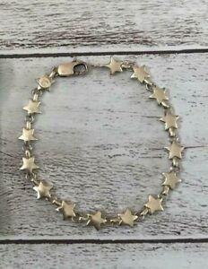 Tiffany & Co. Puff Star Link Bracelet / Sterling Silver SV925 / approx. 18.5cm