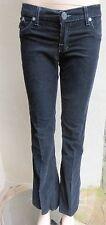"ROCK & REPUBLIC ""Roth"" Black Corduroy Jeans Pants Sz 27, 31""L MINT"